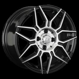 Литой диск LS Wheels LS144 6.5x15/4x100 D73.1 ET40 BKF - фото 11